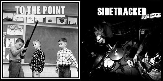 To The Point / Sidetracked Split 7""
